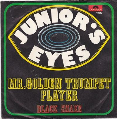 MR. GOLDEN TRUMPET PLAYER / Black Snake   German pressing