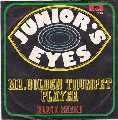 MR. GOLDEN TRUMPET PLAYER / Black Snake   German pressing