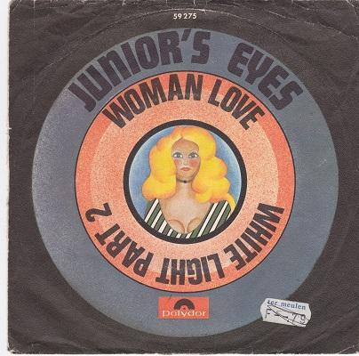 WOMAN LOVE / White Light Part 2   German pressing