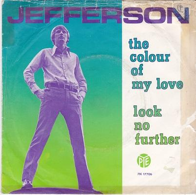 THE COLOUR OF MY LOVE / Look No Further   Dutch pressing