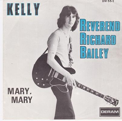 REVEREND RICHARD BAILEY / Mary, Mary   Belgian pressing