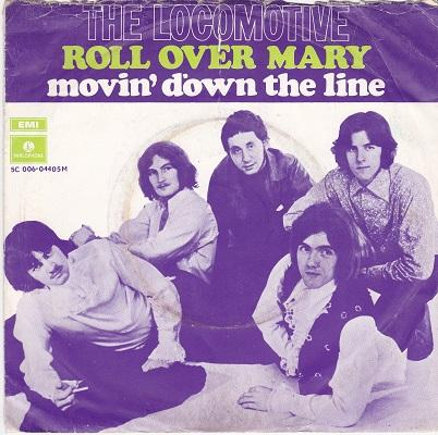 ROLL OVER MARY / Movin' Down The Line   Dutch pressing