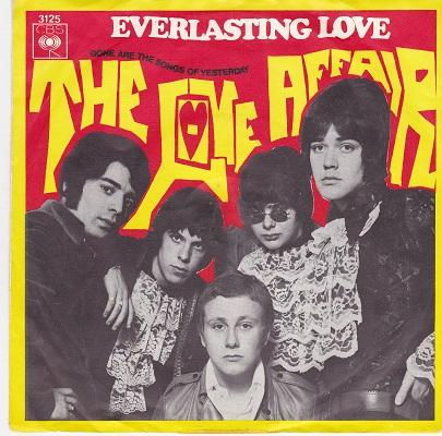 EVERLASTING LOVE / Gone Are The Songs Of Yesterday   Dutch pressing