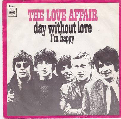 A DAY WITHOUT LOVE / I'm Happy   Dutch pressing