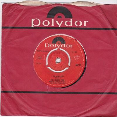 I DO LOVE YOU / If I Had You Baby   UK pressing