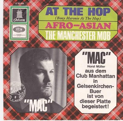 AT THE HOP / Afro-Asian   German pressing