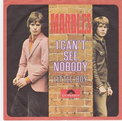 I CAN'T SEE NOBODY / Little Boy   German pressing