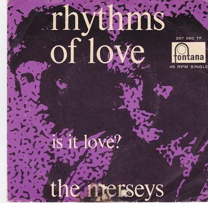 RHYTHMS OF LOVE / Is It Love?   Dutch pressing