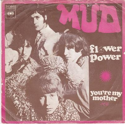 FLOWER POWER / You're My Mother   Dutch pressing