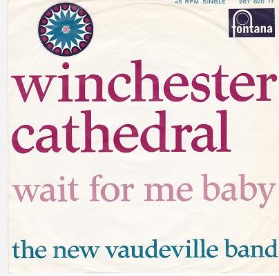 WINCHESTER CATHEDRAL / Wait For Me Baby   Dutch pressing
