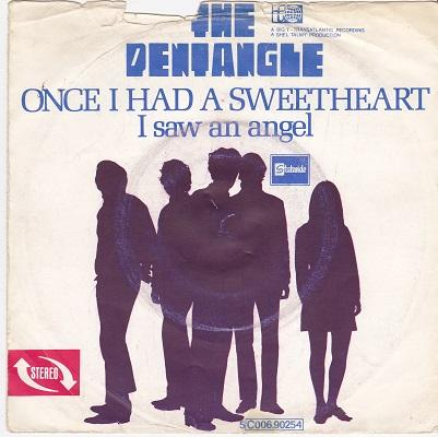 ONCE I HAD A SWEETHEART / I Saw An Angel   Dutch pressing
