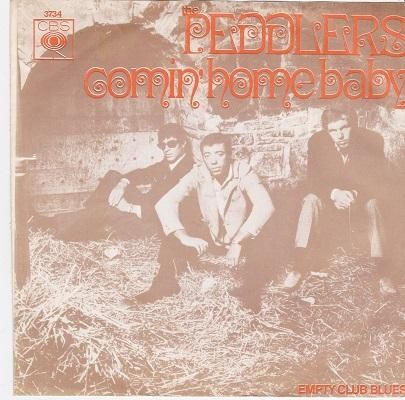 COMIN' HOME BABY / Empty Club Blues   Dutch pressing