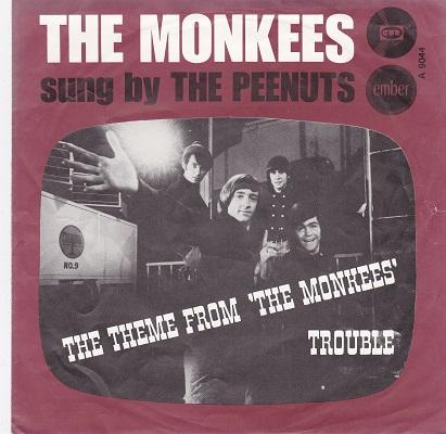 THE THEME FROM THE MONKEES / Trouble   Dutch pressing