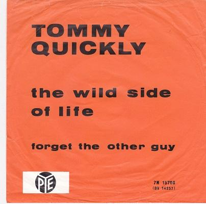 THE WILD SIDE OF LIFE / Forget The Other Guy   Dutch pressing