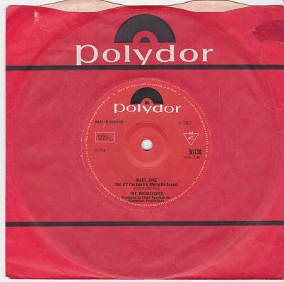 MARY JANE (GET OFF THE DEVIL'S MERRY-GO-ROUND) / Daytime Lovers   UK pressing