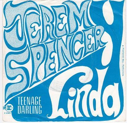 LINDA / Teenage Darling   Dutch pressing
