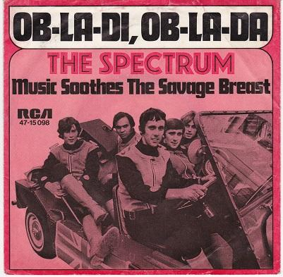 OB-LA-DI, OB-LA-DA / Music Soothes The Savage Breast   German pressing