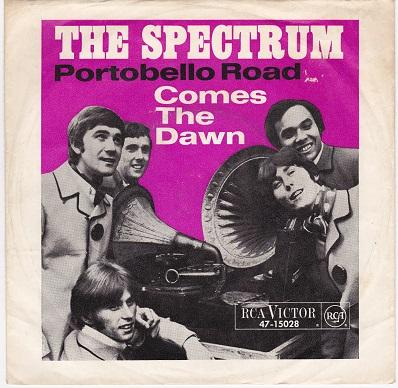 PORTOBELLO ROAD / Comes The Dawn   German pressing