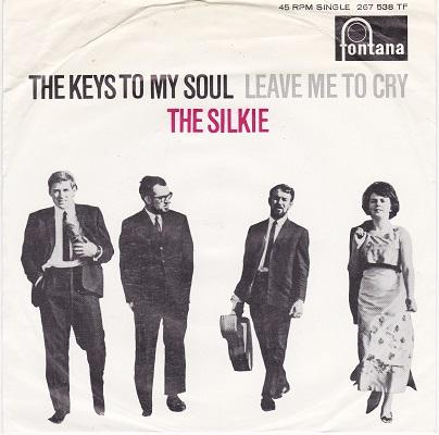 THE KEYS TO MY SOUL / Leave Me To Cry   Dutch pressing