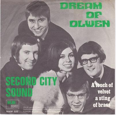 THE DREAM OF OLWEN / A Touch Of Velvet, A String Of Brass   Belgian pressing