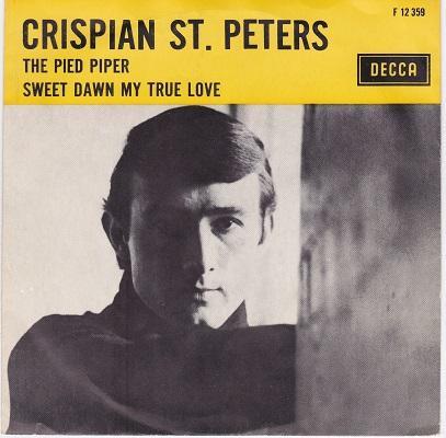 THE PIED PIPER / Sweet Dawn My True Love   Dutch pressing
