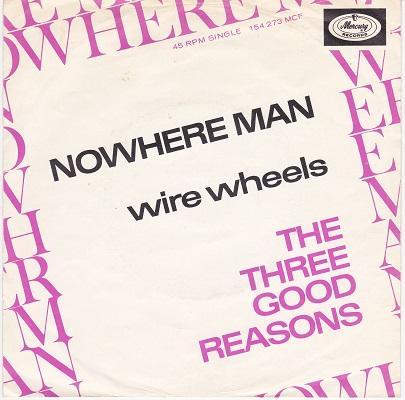 NOWHERE MAN / Wire Wheels   Dutch pressing
