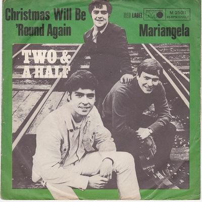 CHRISTMAS WILL BE 'ROUND AGAIN / Mariangela   German pressing
