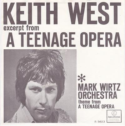 EXCERPT FROM ''A TEENAGE OPERA'' / Theme From ''A Teenage Opera''   Dutch pressing