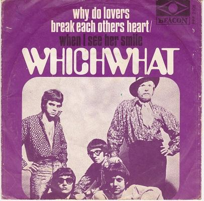 WHY DO LOVERS BREAK EACH OTHERS HEART / When I See Her Smile   Dutch pressing