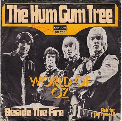 THE HUM GUM TREE / Beside The Fire   German pressing