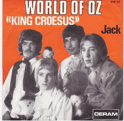 KING CROESUS / Jack   Belgian pressing