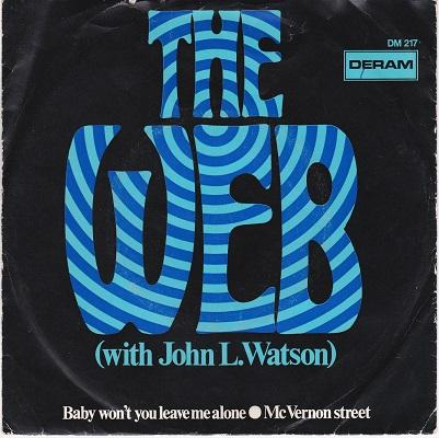 BABY WON'T YOU LEAVE ME ALONE / McVernon Street   Dutch pressing