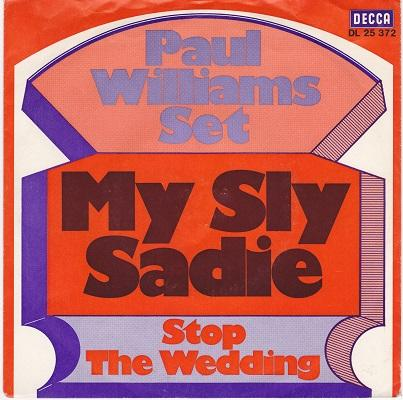 MY SLY SADIE / Stop The Wedding   German promo pressing