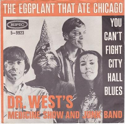 THE EGGPLANT THAT ATE CHICAGO / You Can't Fight City Hall Blues   Dutch pressing