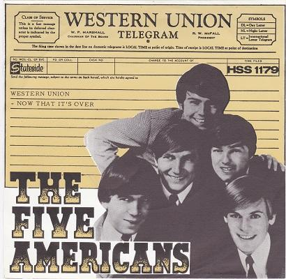 WESTERN UNION / Now That It's Over   Dutch pressing