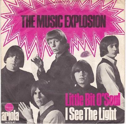 LITTLE BIT O'SOUL / I See The Light   German pressing