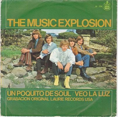 UN POQUITO DE SOUL (LITTLE BIT O'SOUL) / I See The Light   Spanish pressing