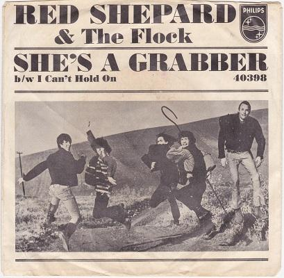 SHE'S A GRABBER / I Can't Hold On   US pressing