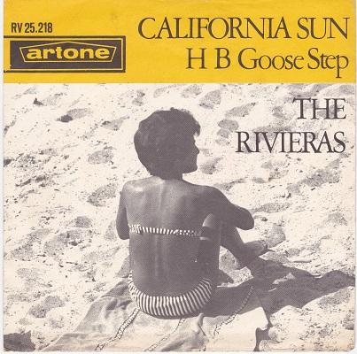 CALIFORNIA SUN / H B Goose Step   Dutch pressing
