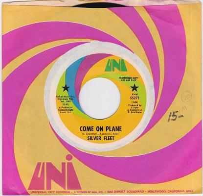 COME ON PLANE / Look Out World   US promo pressing