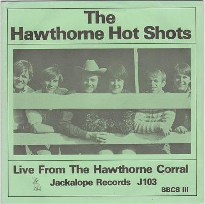 THE HAWTHORNE HOT SHOTS   2x7''   500 numbered copies