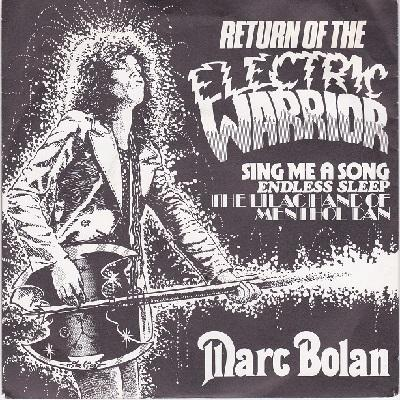 RETURN OF THE ELECTRIC WARRIOR EP    UK pressing