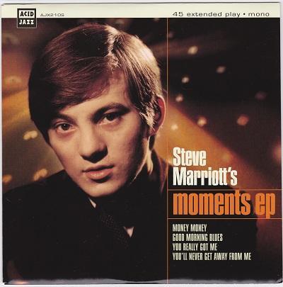 STEVE MARRIOTT''S MOMENTS EP   Reissue of rare single