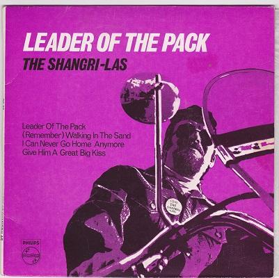 LEADER OF THE PACK EP   Australian reissue