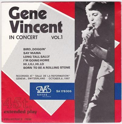 IN CONCERT VOL 1 EP   Live from 1967