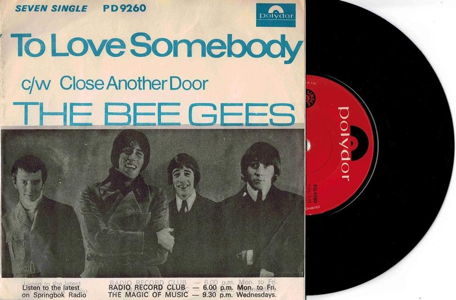 TO LOVE SOMEBODY / Close Another Door