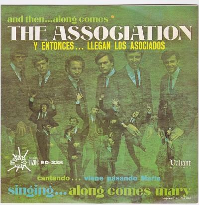 AND THEN…ALONG COMES THE ASSOCIATION EP   Mexican pressing