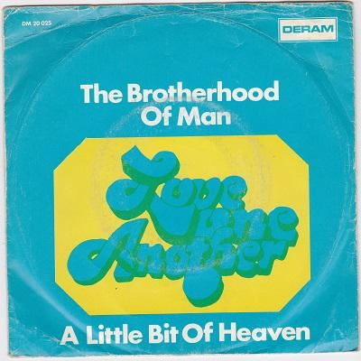 LOVE ONE ANOTHER / A Little Bit Of Heaven   Dutch pressing