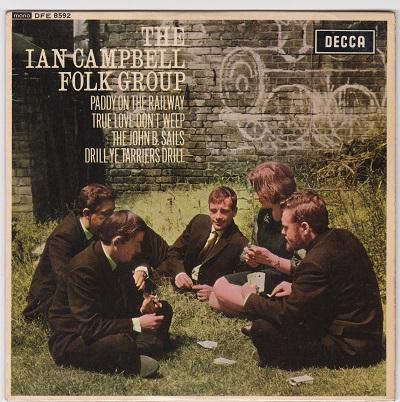 THE IAN CAMPBELL FOLK GROUP EP   UK pressing