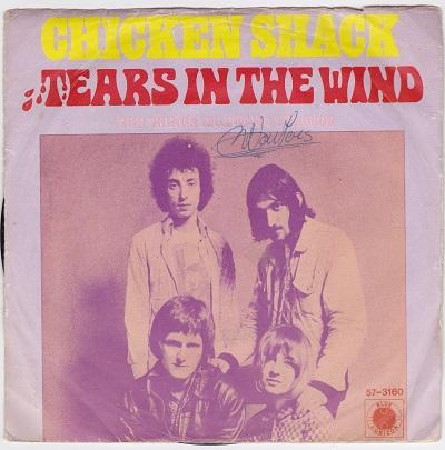 TEARS IN THE WIND / The Things You Put Me Through   Dutch pressing